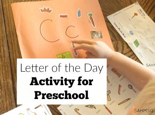 preschool activities the stay