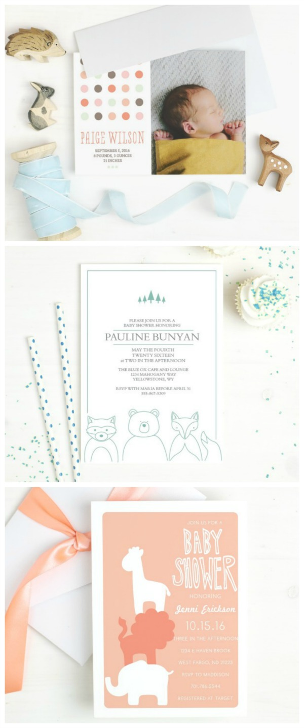 Animal Baby Shower Invitations The Stay At Home Mom