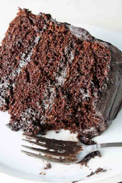 small resolution of the most amazing chocolate cake recipe pin