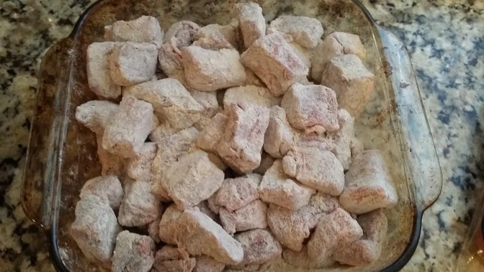 Irish Stew Beef in flour