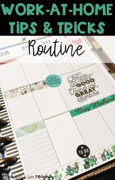 Blog - WAHM Tips Routine