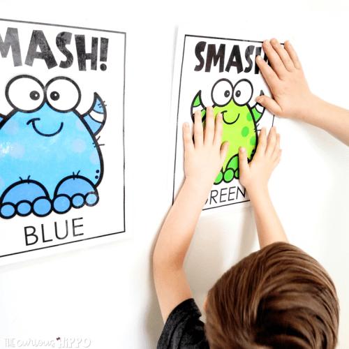 Monster Color Smash