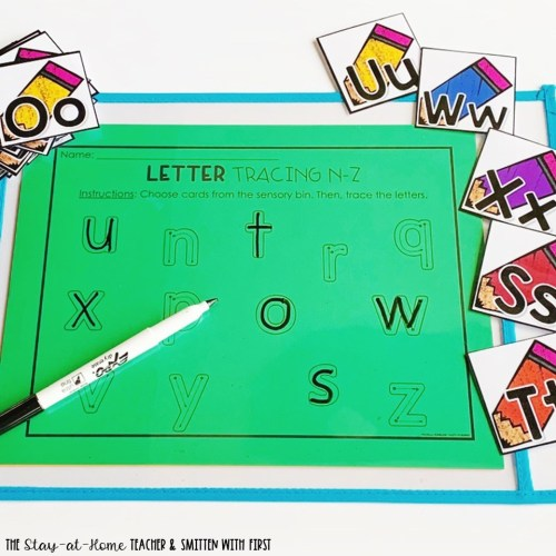 letter tracing center