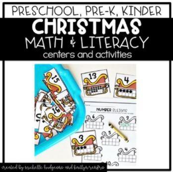 Preschool Activities Cover - 12Christmas
