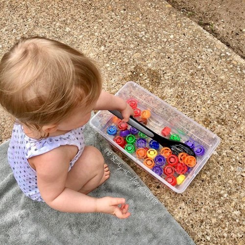 Our First Sensory Bin