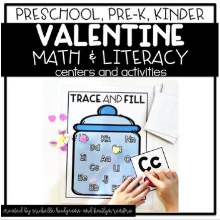 Preschool Activities Cover - 2Valentines