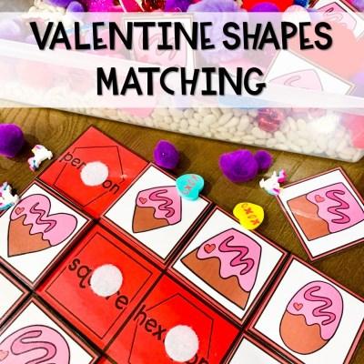 Valentine Shape Matching