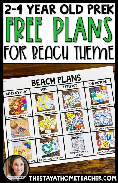 Beach Plans