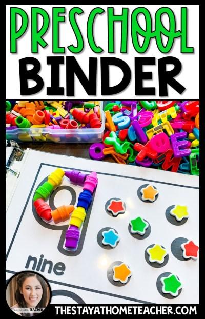 Preschool Binder4