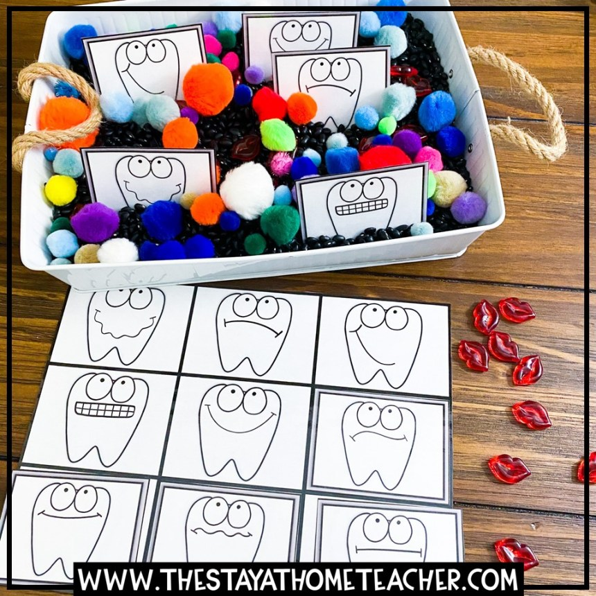 tooth emotions matching mat