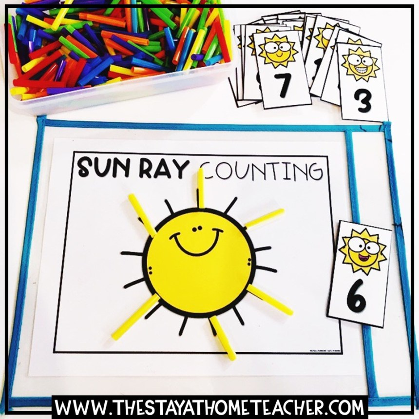 counting sun rays