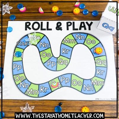 weather alphabet board game