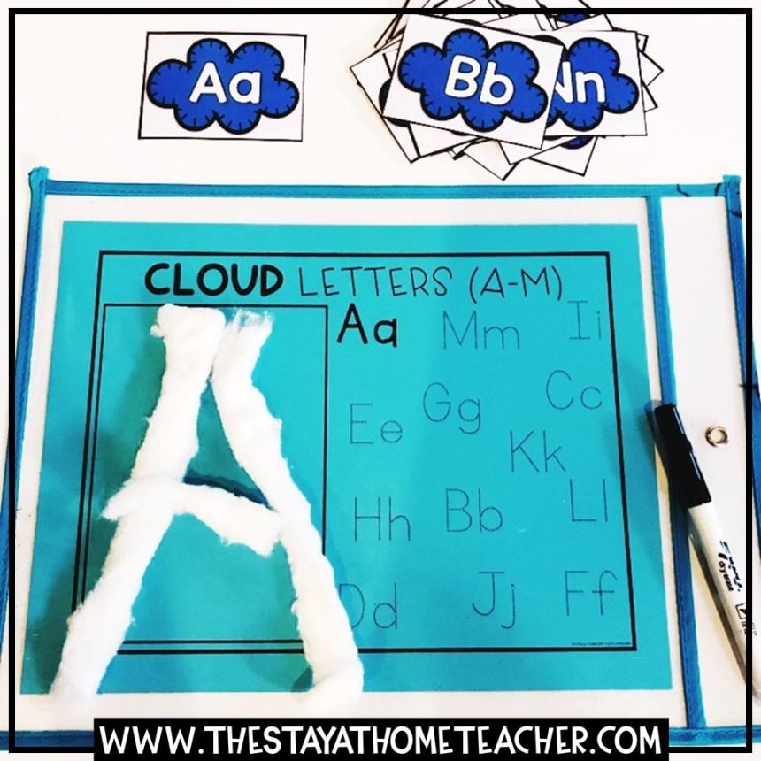 cloud letter building
