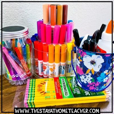 homeschool school supplies