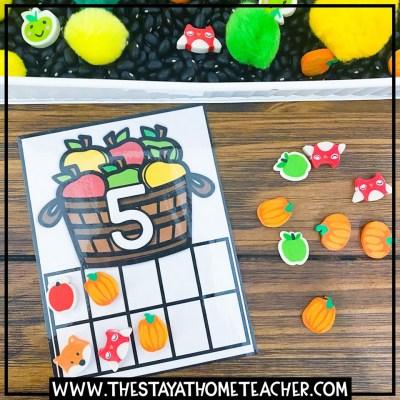 homeschool kindergarten math activities
