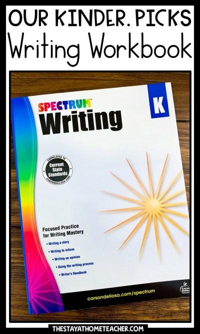writing workbook pin