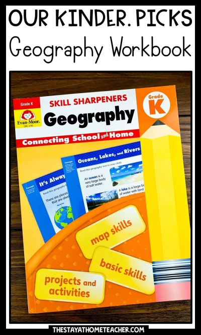 geography workbook pin