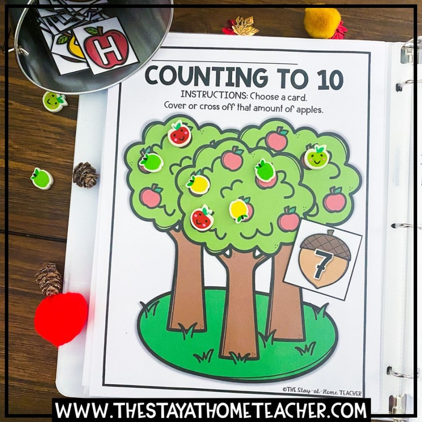 fall counting page