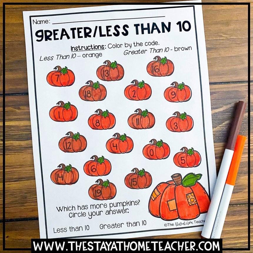 halloween 1st grade