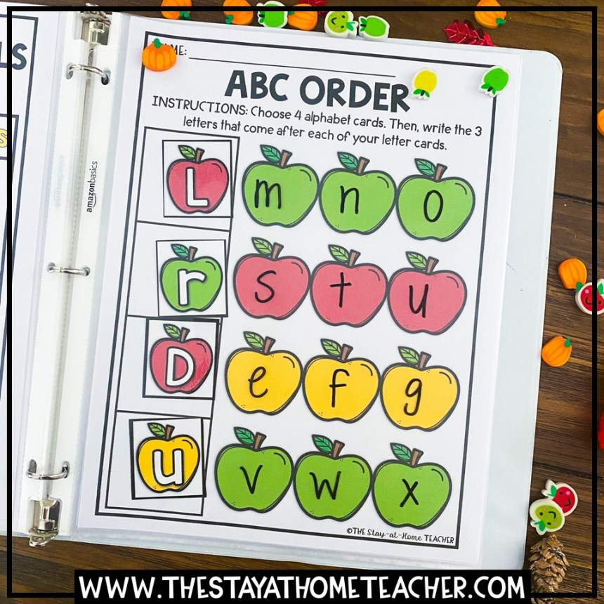 abc order page