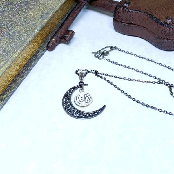 88 Butterfly Moon Necklace
