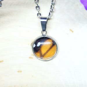 Monarch Butterfly Dainty Necklace