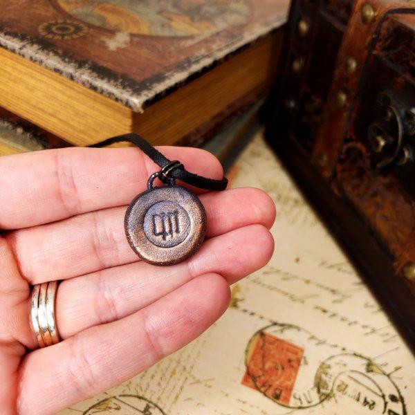 Zodiac and Horoscope Charm Necklace - Virgo