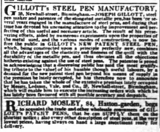 1832 gillott