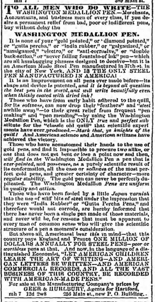1857 Hartford CT