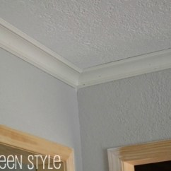 Chair Moulding Ideas Huge Round Diy: Crown Molding | The Steen Style