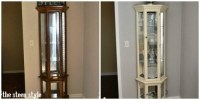 DIY: Painted Curio Cabinet | The Steen Style