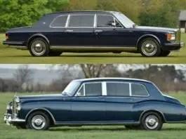A Brunei double – Rolls-Royces originally owned by Sultan of Brunei for sale – 1984 Rolls-Royce Phantom VI limousine and 1993 Rolls-Royce Mulliner Spur III touring limousine – £320,000 and £54,000 – Vintage & Prestige Fine Motorcars – Richard Biddulph