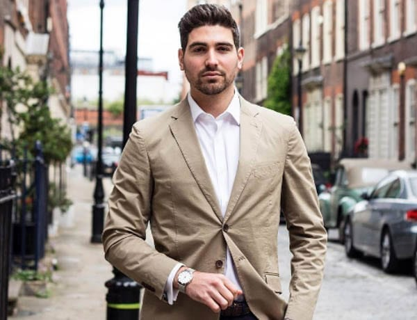 "Benjamin Lipari – East London based menswear and travel blogger Benjamin Lipari was born in Italy, grew up in Australia and is described as a ""digital comms guru."" He has 16,500 followers on Instagram."