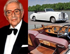 Bonded to a Rolls – 1959 Rolls-Royce Silver Cloud I drophead coupé Adaptation by H.J. Mulliner – Sir Ken Adams OBE – RM Sotheby's Battersea sale, 7th September 2015