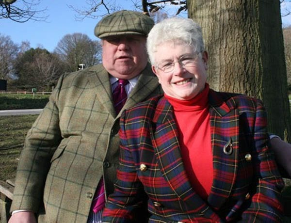 "Badly dressed bigoted property tycoons Fergus and Judith Wilson – Fat former boxer Fergus Wilson and his badly dressed Hyacinth Bucket-like wife banned ""coloured people"" from renting from them in Kent"