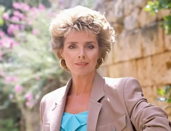 Jan Harvey – Actress and star of Howards' Way