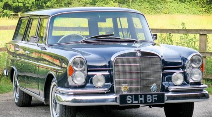 An Ugly Brake – 1967 Mercedes-Benz 230S 'Universal' shooting brake estate car to be auctioned by Silverstone Classics at their Silverstone Classic Sale on 29th and 30th July 2017 – Estimate of £35,000 to £40,000 ($45,000 to $52,000, €39,000 to €45,000 or درهم167,000 to درهم191,000)