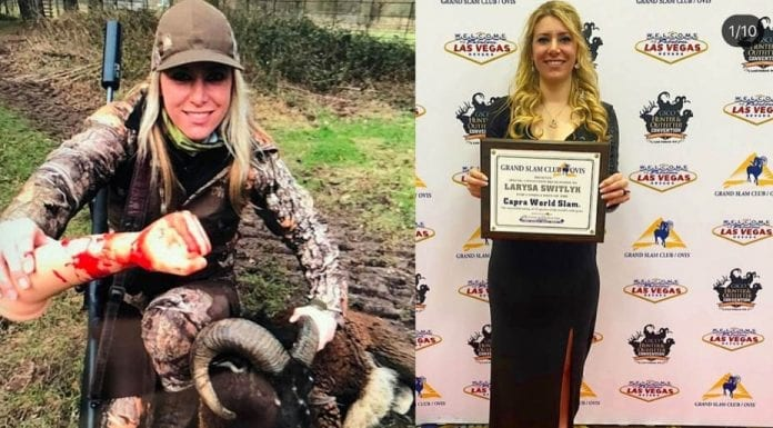 Moron of the Moment – Sheep shooting swine Larysa Switlyk – Sex toy up the bums of sheep shover Larysa Switlyk takes to social media to moan about what she's had to quite deservedly endure
