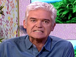 Wally of the Week – Phillip Schofield – Tempestuous television presenter Phillip Schofield bizarrely claims to have been murdered in a past life because of a debt.