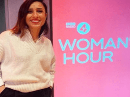 """Heroine of the Hour 2021 – Anita Rani – Gin loving radio presenter – Anita Rani arrives as a BBC Radio 4 'Woman's Hour' morning show presenter and announces: """"If you've had enough, pour yourself a G&T, you have my permission."""""""