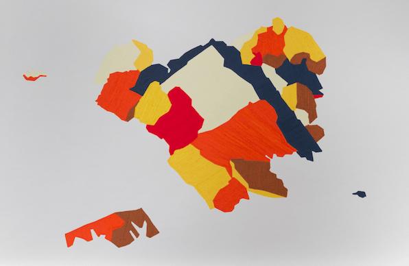 © Pablo Garcia, Sans titre, série A.W., 2012, gouache sur papier, 50 x 32 cm