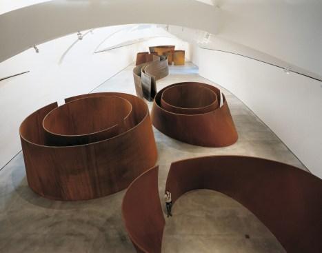 © Richard Serra, La Matière du Temps, courtesy of the artist