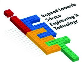 ISET logo Inspired toward Science Engineering and Technology