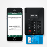 pocket point of sale and smart phone