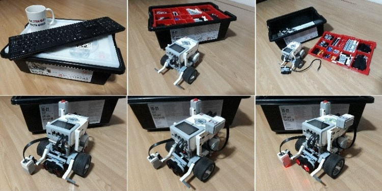 Mindstorms collage