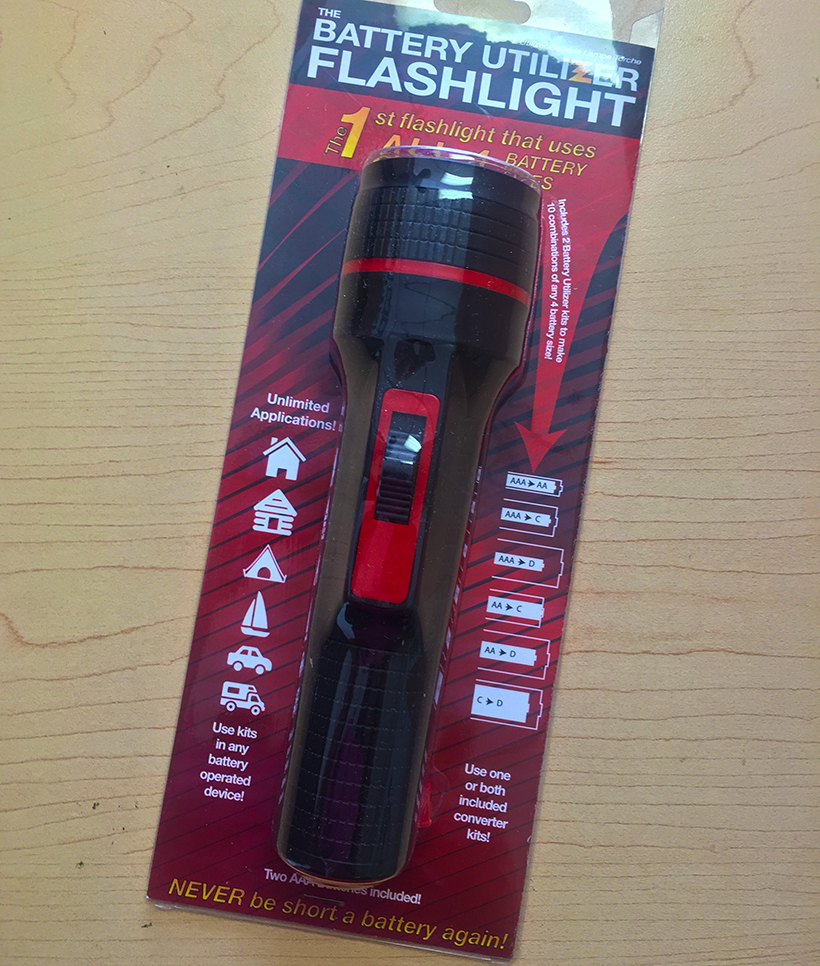 Battery Utilizer Flashlight