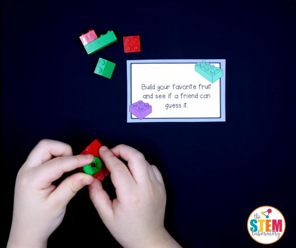 Free Lego Challenge Cards Kids Awesome Stem Activity