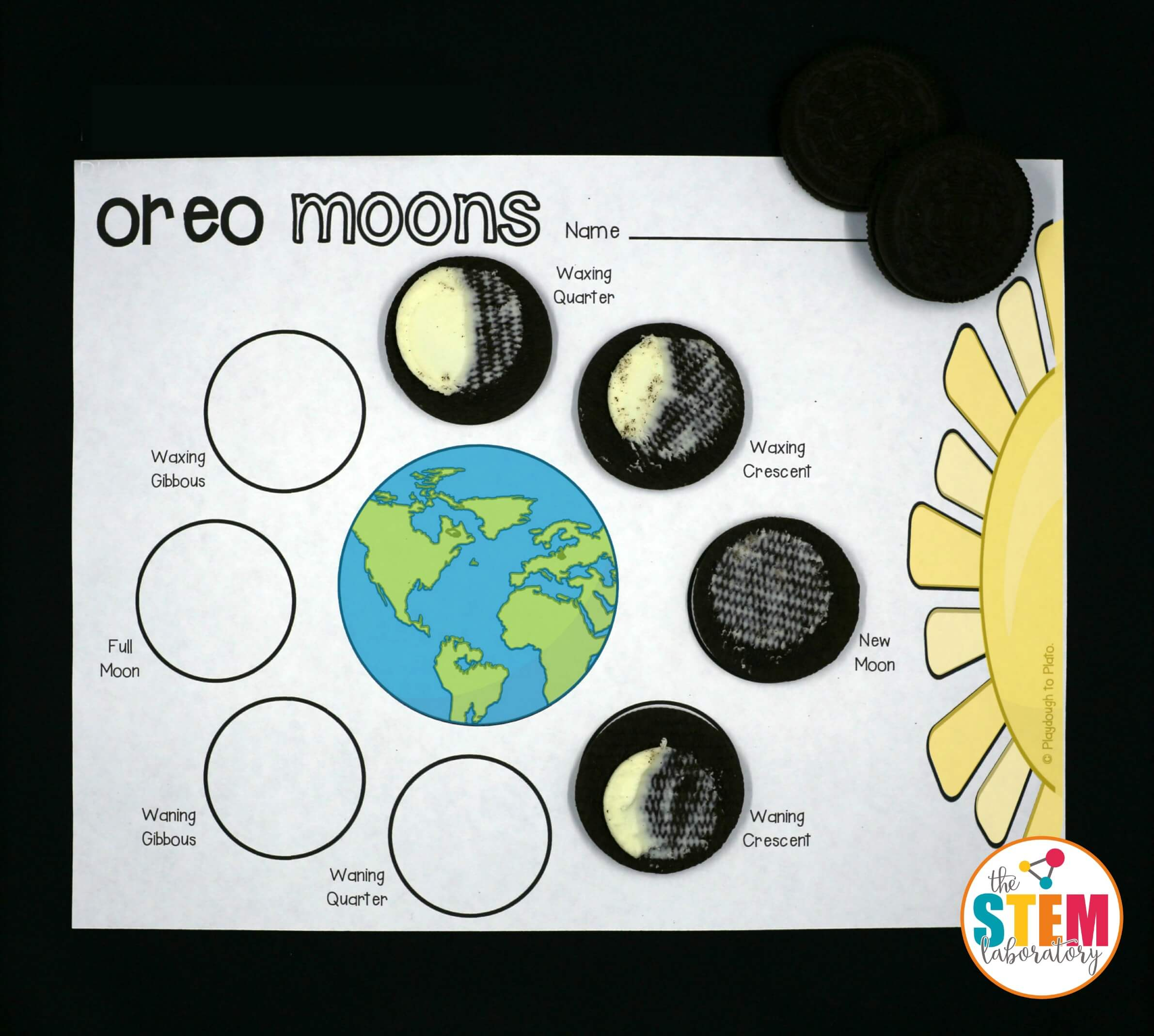 Such A Fun Way To Teach Kids About The Phases Of The Moon