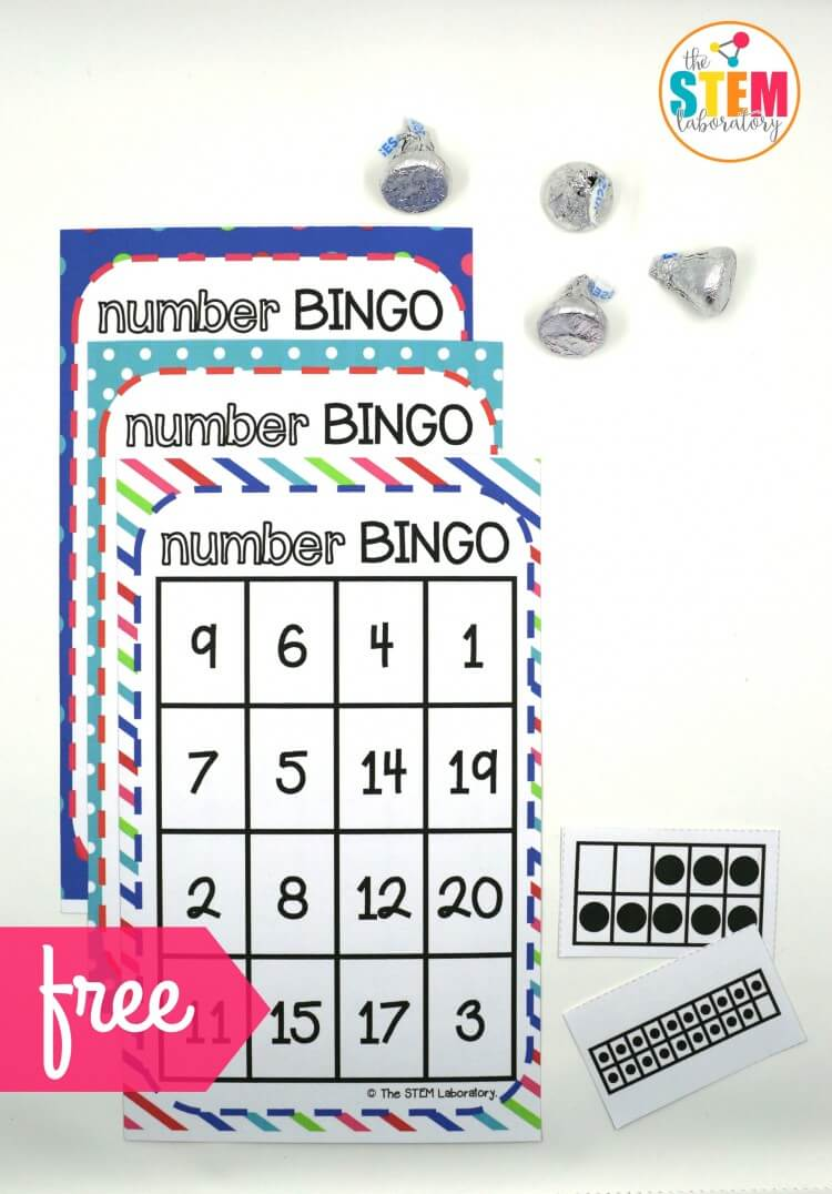 Number Bingo The Stem Laboratory