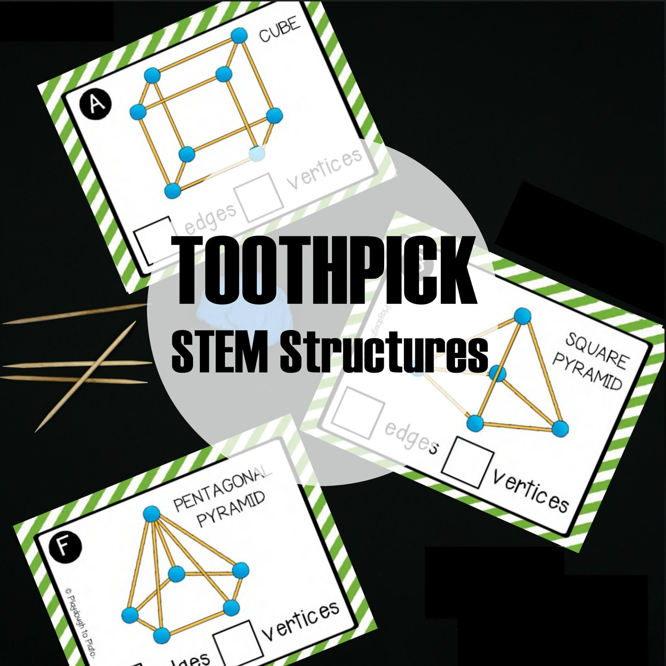 Stem Challenge Build Toothpick Structures